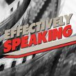 Effectively Speaking